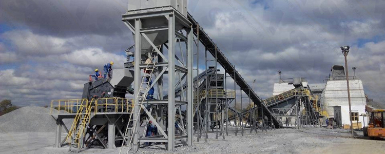 Quarry Crushing Plant Operation