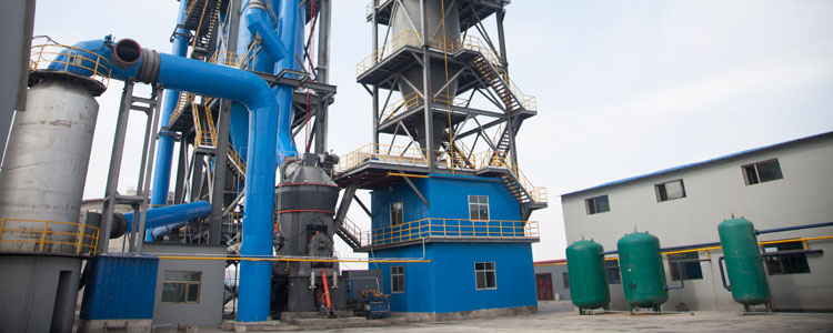 Vertical Roller Mill In Metallurgical Industry